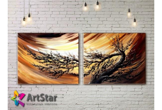 Модульные Картины, рисованные, маслом, Art. MHM17_2_081