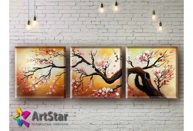 Модульные Картины, рисованные, маслом, Art. MHM17_3_003