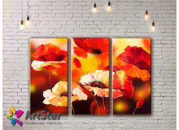 Модульные Картины, рисованные, маслом, Art. MHM17_3_085