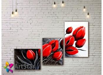 Модульные Картины, рисованные, маслом, Art. MHM17_3_099
