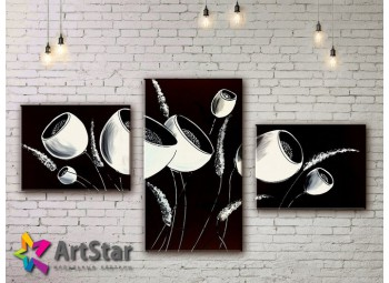 Модульные Картины, рисованные, маслом, Art. MHM17_3_109