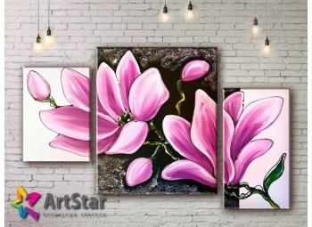 Модульные Картины, рисованные, маслом, Art. MHM17_3_111