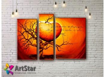Модульные Картины, рисованные, маслом, Art. MHM17_3_188