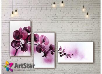 Модульные Картины, рисованные, маслом, Art. MKM17_3_001