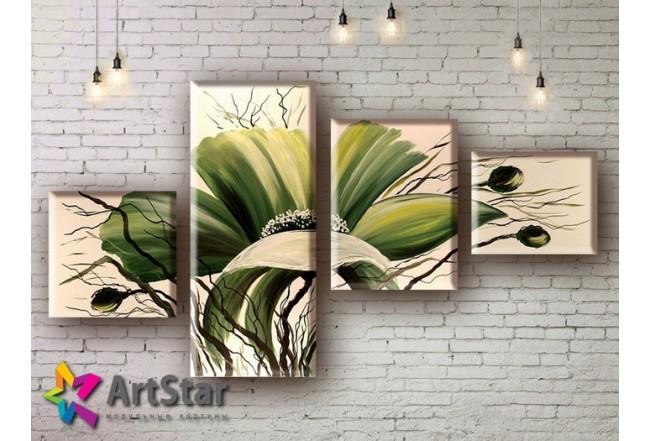 Модульные Картины, рисованные, маслом, Art. MHM17_4_188