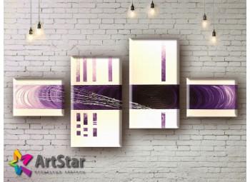 Модульные Картины, рисованные, маслом, Art. MHM17_4_224