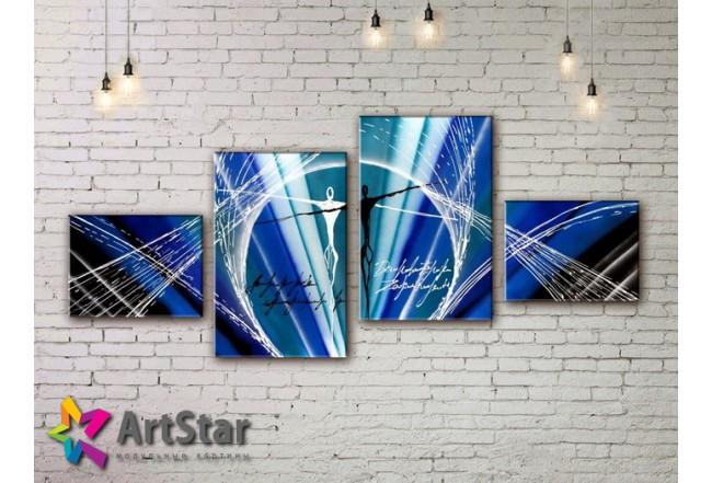 Модульные Картины, рисованные, маслом, Art. MHM17_4_264