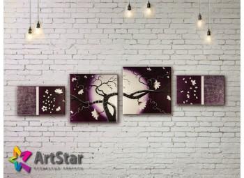 Модульные Картины, рисованные, маслом, Art. MHM17_4_272