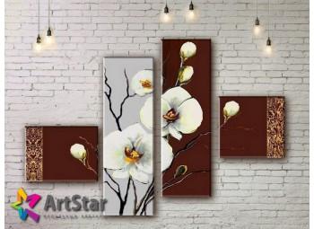 Модульные Картины, рисованные, маслом, Art. MHM17_4_286