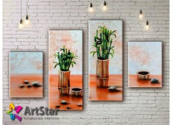 Модульные Картины, рисованные, маслом, Art. MHM17_4_348