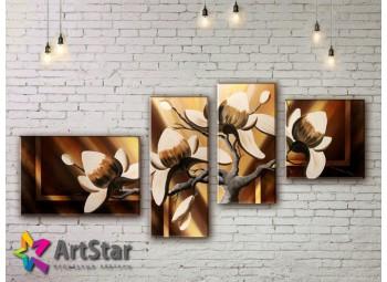 Модульные Картины, рисованные, маслом, Art. MKM17_4_015