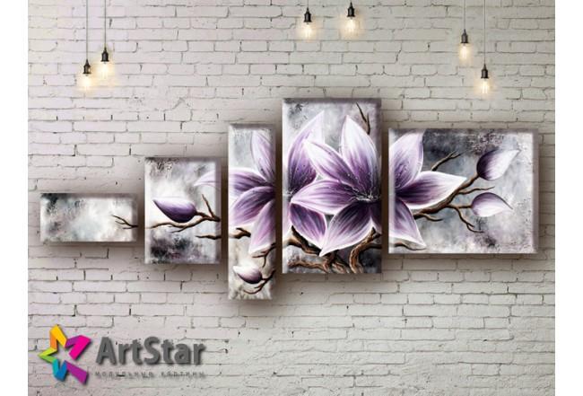 Модульные Картины, рисованные, маслом, Art. MHM17_5_040