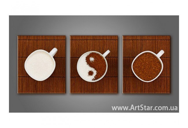 Модульная картина, Кофе, купить