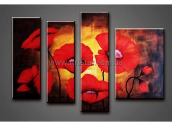 Модульные Картины Маслом, Art. HM778028