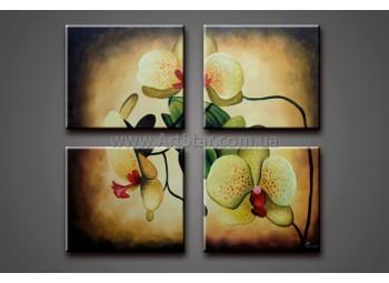 Модульные Картины Маслом, Art. HM778043