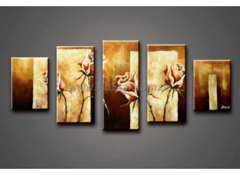 Модульные Картины Маслом, Art. HM778055