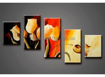 Модульные Картины Маслом, Art. HM778070