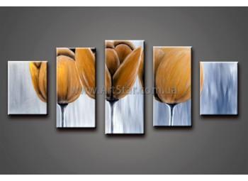 Модульные Картины Маслом, Art. HM778103