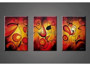 Модульные Картины Маслом, Art. HM888016