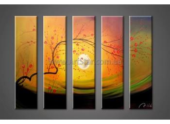 Модульные Картины Маслом, Art. HM888034