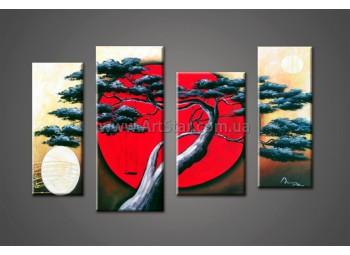 Модульные Картины Маслом, Art. HM888043