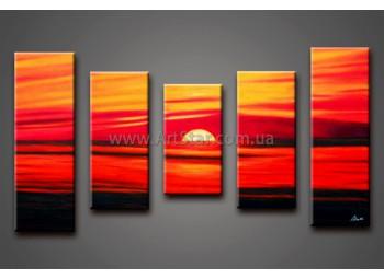 Модульные Картины Маслом, Art. HM888073