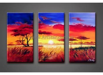Модульные Картины Маслом, Art. HM888076