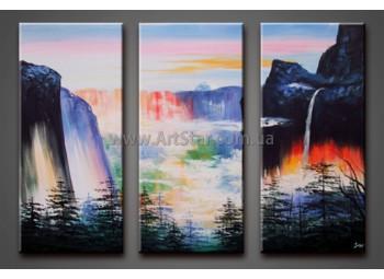 Модульные Картины Маслом, Art. HM888079