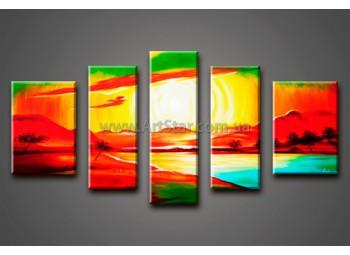 Модульные Картины Маслом, Art. HM888082