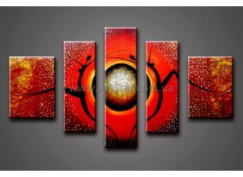 Модульные Картины Маслом, Art. HM888151