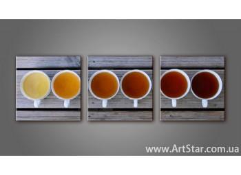 Модульная картина, Кофейный натюрморт 4 - SALE