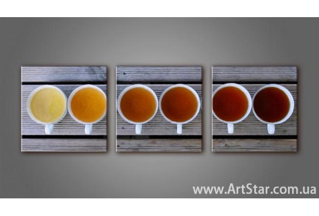 Модульная картина Кофейный натюрморт 4