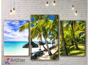 Модульные Картины, Морской пейзаж, Art. SEAA778010
