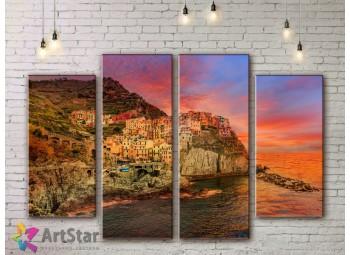 Модульные Картины, Морской пейзаж, Art. SEAA778022