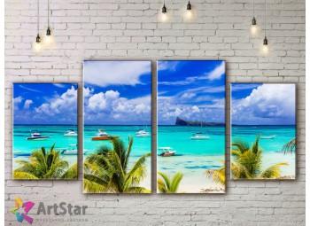 Модульные Картины, Морской пейзаж, Art. SEAA778026