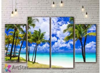 Модульные Картины, Морской пейзаж, Art. SEAA778030