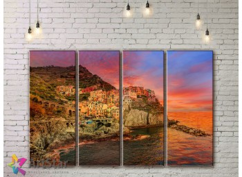 Модульные Картины, Морской пейзаж, Art. SEAA778032