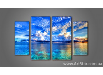 Модульная картина Морской пейзаж (4) 6