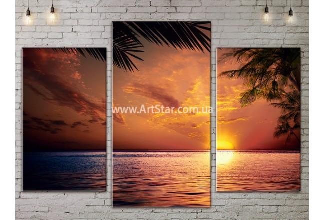 Модульные Картины, Морской пейзаж, Art. SEAA777005