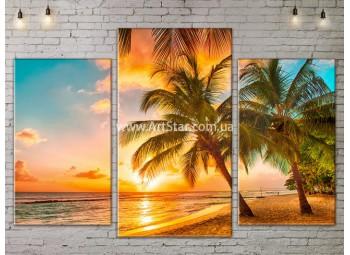 Модульные Картины, Морской пейзаж, Art. SEAA777007