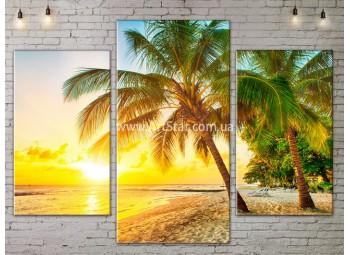 Модульные Картины, Морской пейзаж, Art. SEAA777011