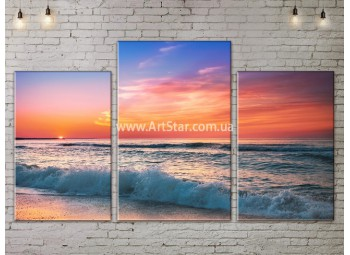Модульные Картины, Морской пейзаж, Art. SEAA777019