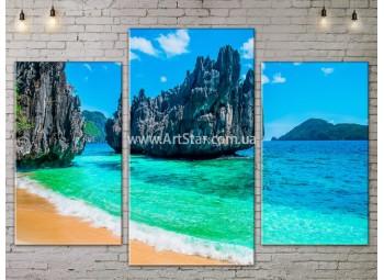 Модульные Картины, Морской пейзаж, Art. SEAA777021
