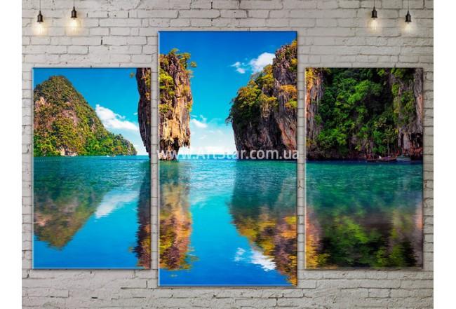 Модульные Картины, Морской пейзаж, Art. SEAA777023