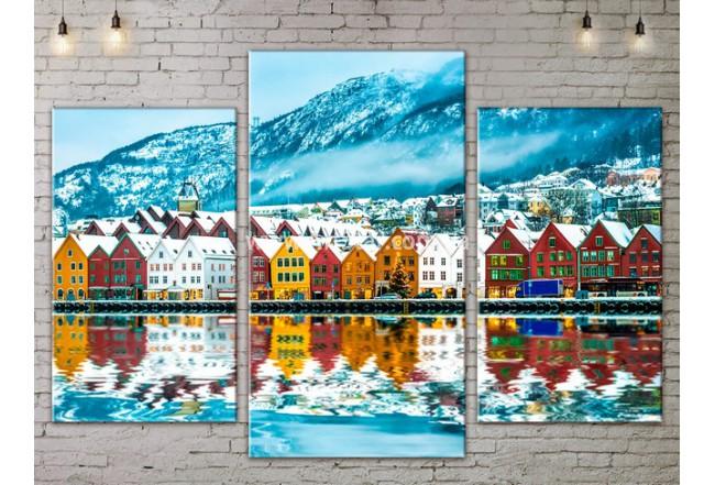 Модульные Картины, Морской пейзаж, Art. SEAA777025