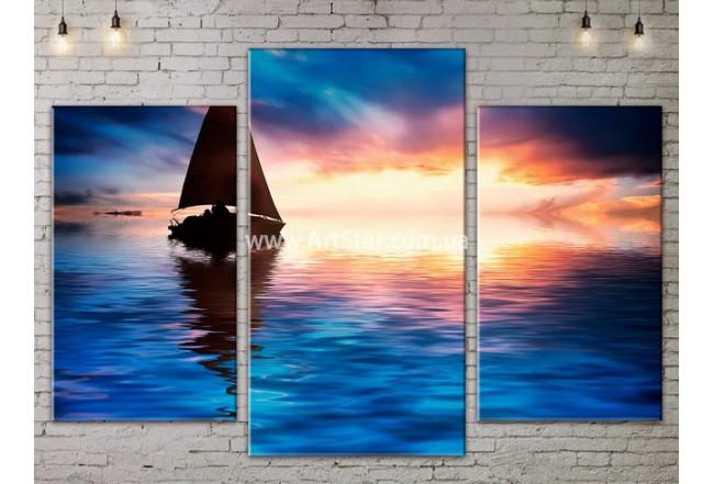Модульные Картины, Морской пейзаж, Art. SEAA777029