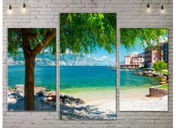 Модульные Картины, Морской пейзаж, Art. SEAA777033