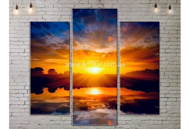 Модульные Картины, Морской пейзаж, Art. SEAA777037
