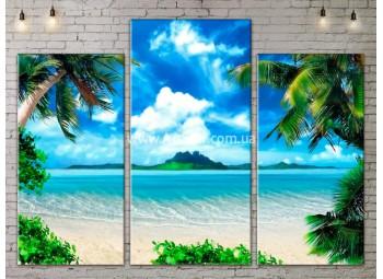 Модульные Картины, Морской пейзаж, Art. SEAA777041