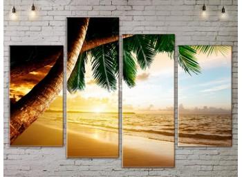 Модульные Картины, Морской пейзаж, Art. SEAA777063